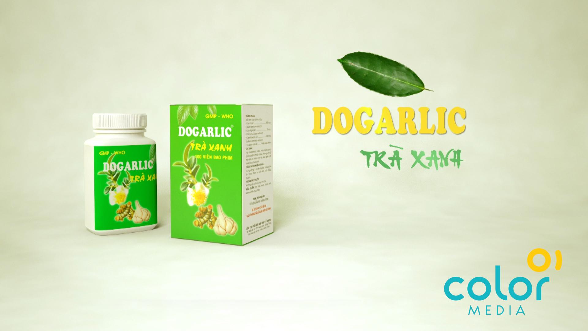 Sản xuất TVC Dogarlic Trà Xanh