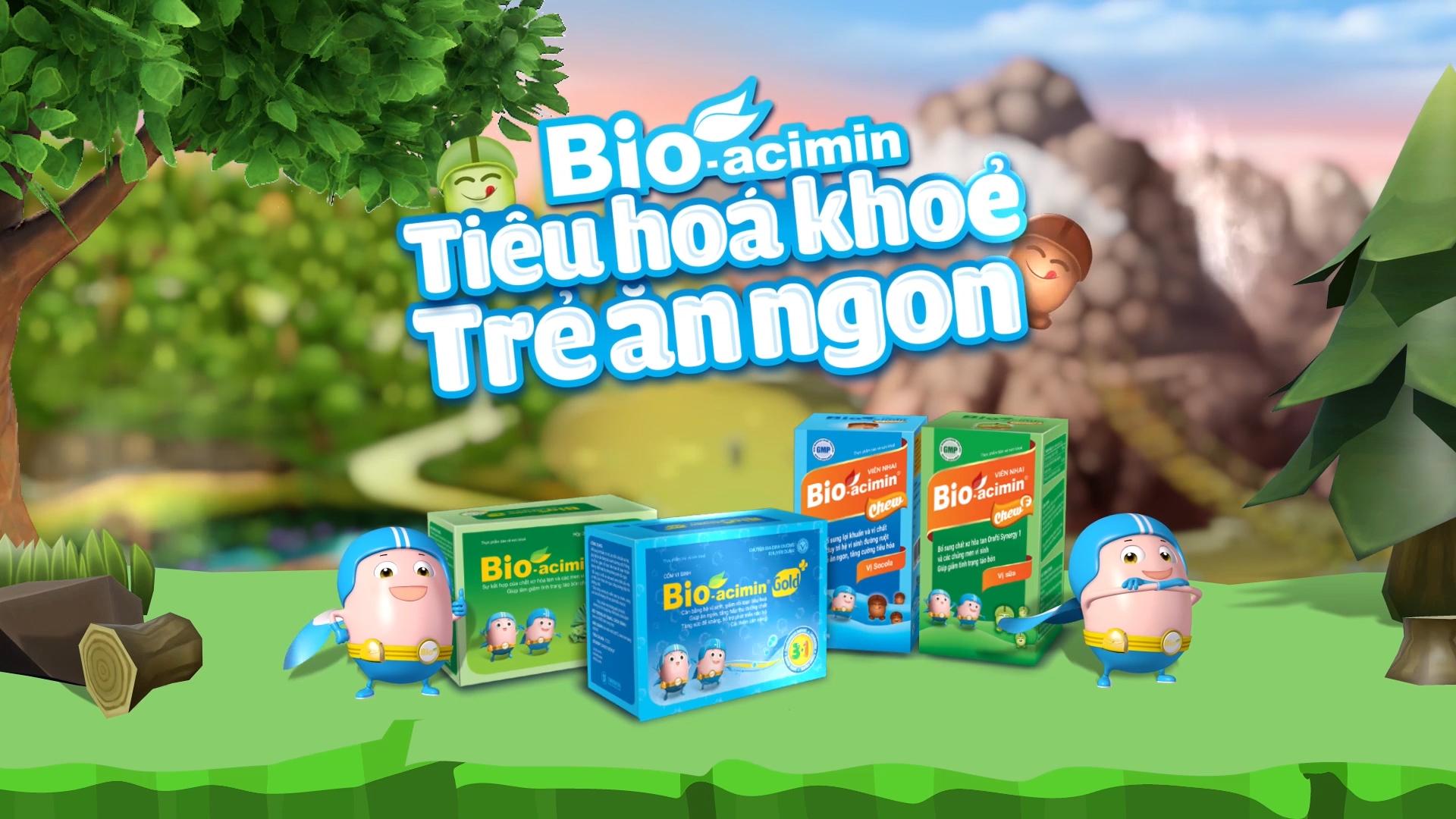 TVC Bio Acimin - Khu rừng tiêu hóa