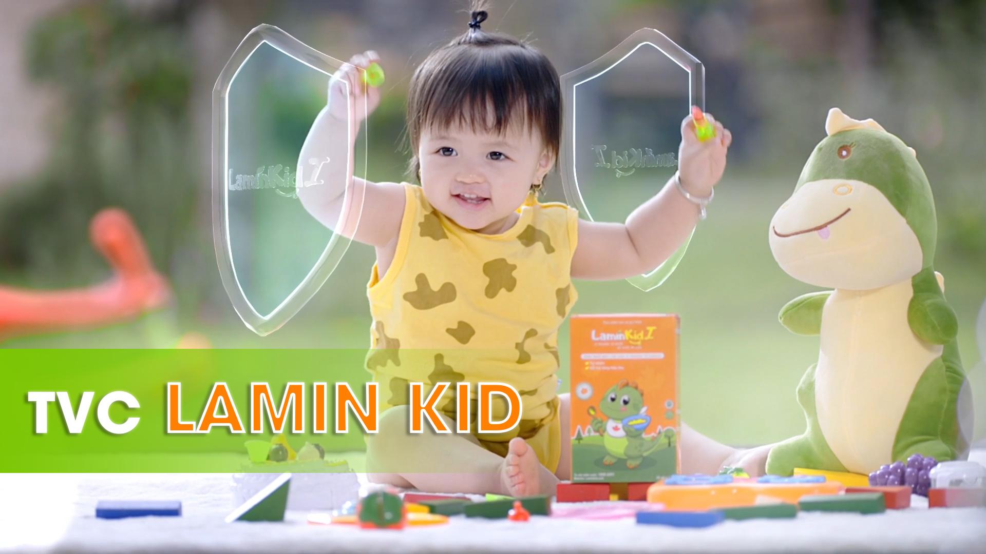TVC LaminKid – Vi khoáng thiên nhiên, bé khỏe ăn liền!