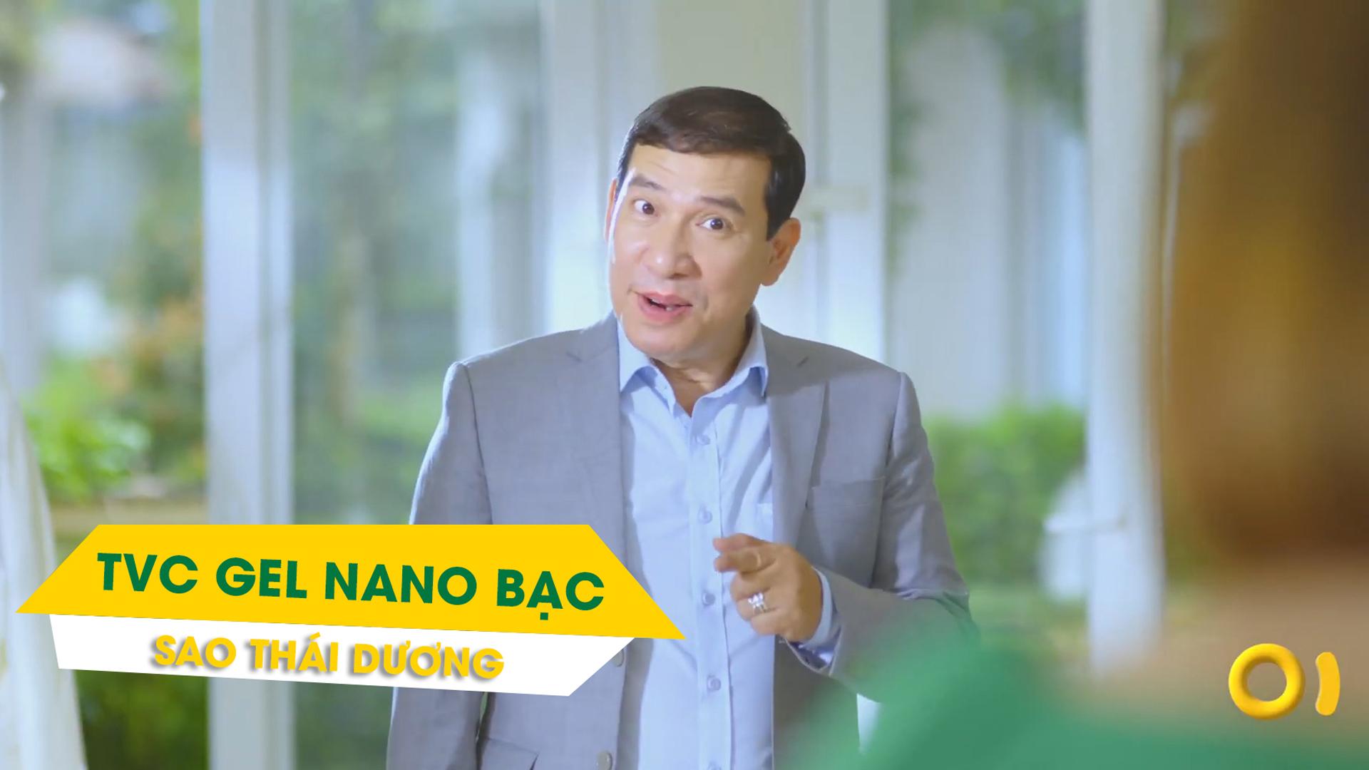 Cùng diễn viên hài Quang Thắng làm TVC Gel Nano Bạc - Sao Thái Dương