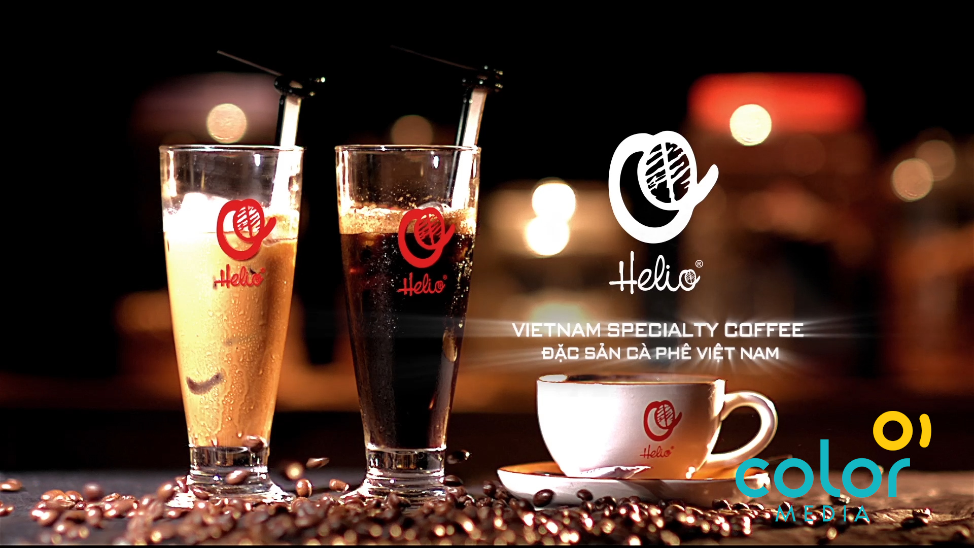 Sản xuất TVC Coffee Helio