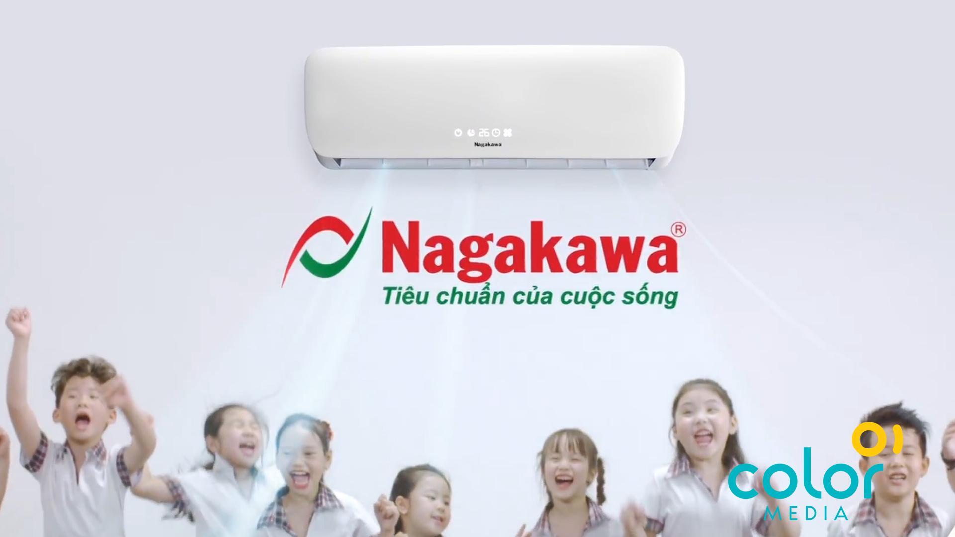 Sản xuất TVC Điều hòa Nagakawa