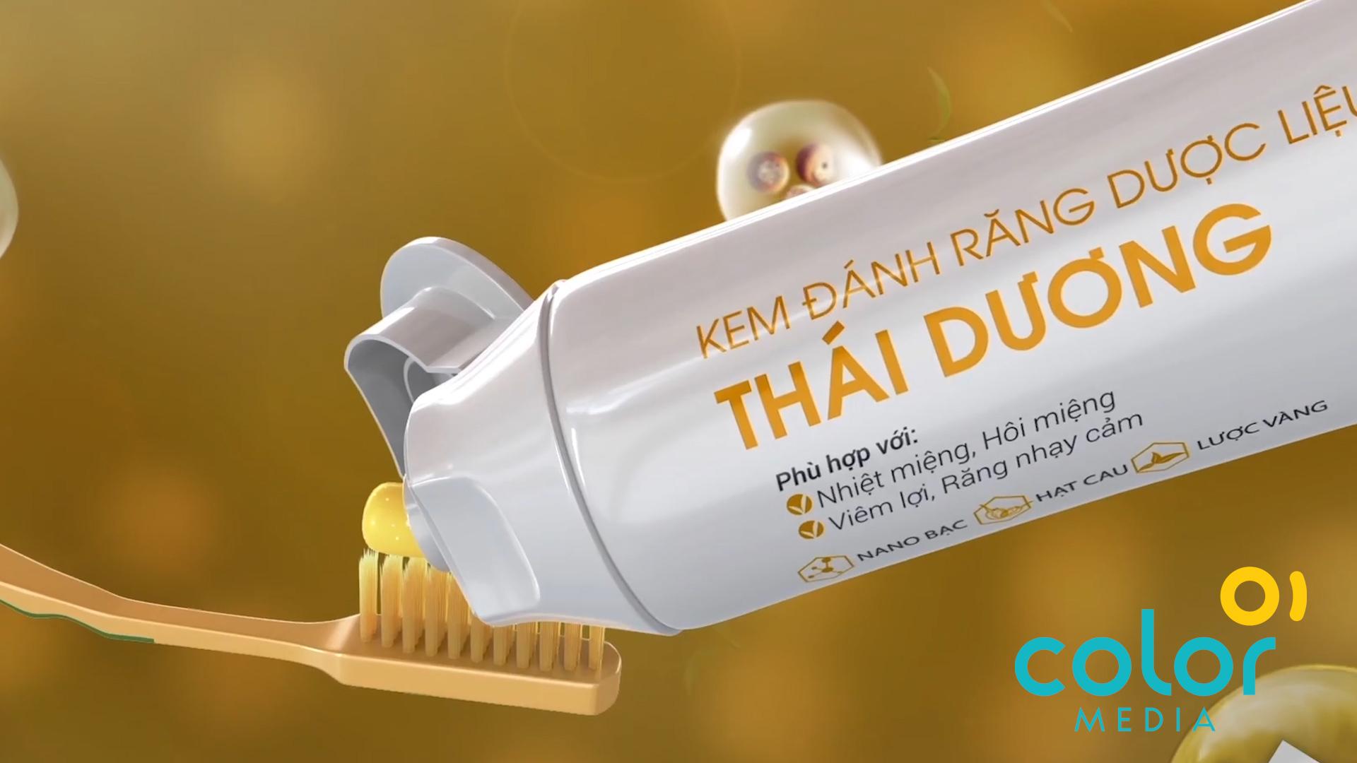 Sản xuất TVC Kem đánh răng Sao Thái Dương