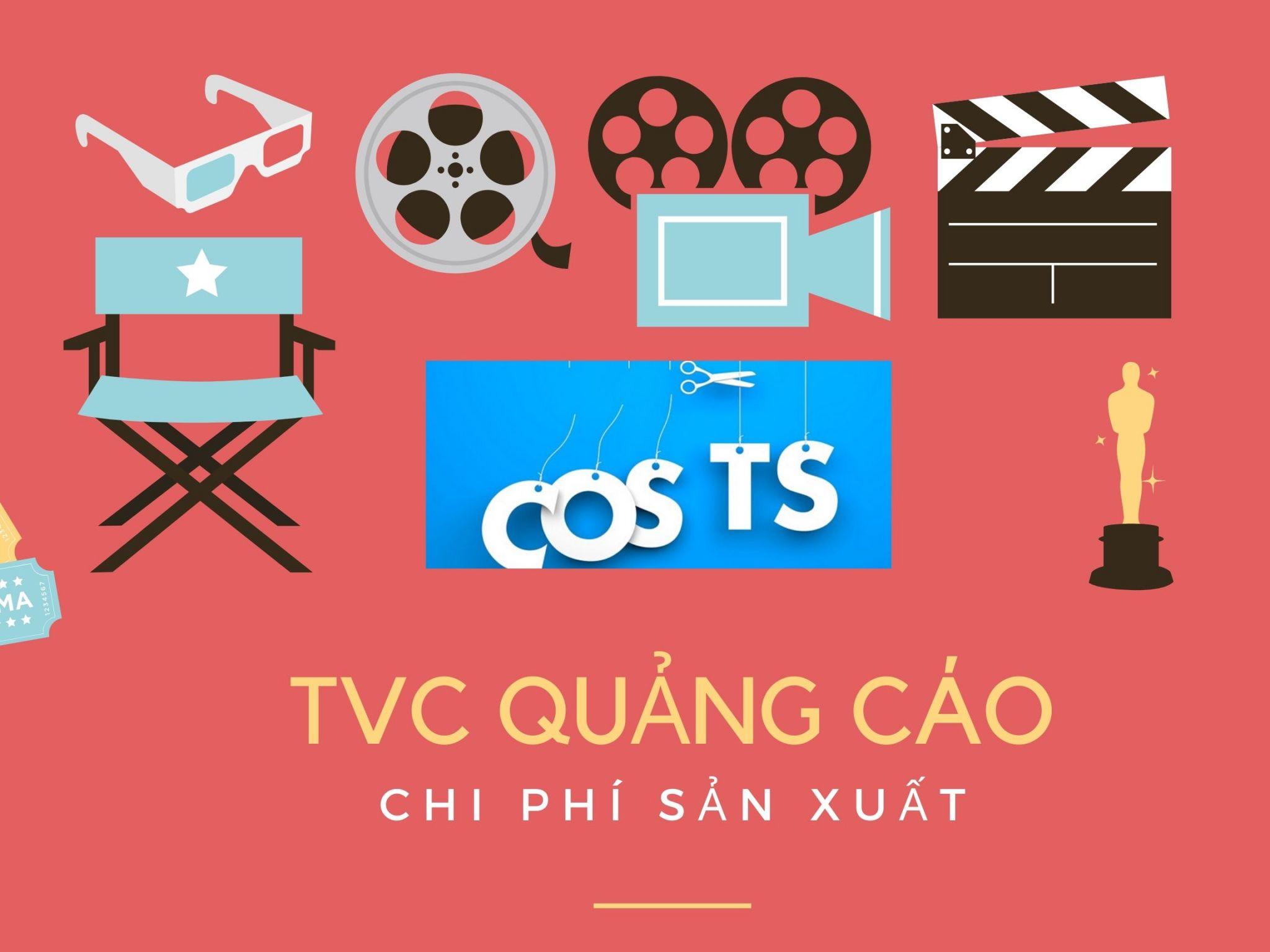 Chi phí cho một TVC quảng cáo
